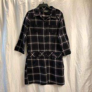 Fox Racing Flannel Dress Snaps Plaid 52090 N2P